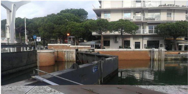 Le porte vinciane del porto canale di Cervia