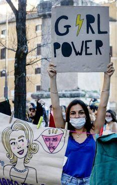 Una manifestazione per l'uguaglianza