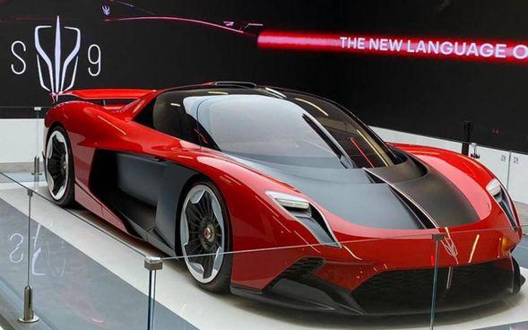 . 'Hongqi S9', bolide elettrico di lusso del gruppo americano-cinese Silk-Faw. L'auto sarà prodotta a Reggio-Emilia