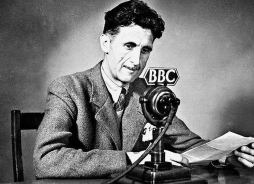 Eric Arthur Blair,. George Orwell, era nato in India nel 1903. Morì a Londra nel 1950