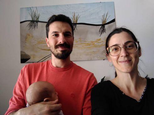 Candida, Tommaso e Gino: famiglia felice grazie anche al progetto 'Partorirai con'