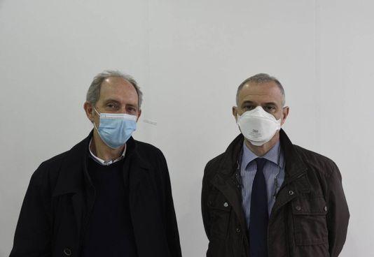 Da sinistra, il direttore sanitario Enrico Tallarita e il manager Salvatore Gioia