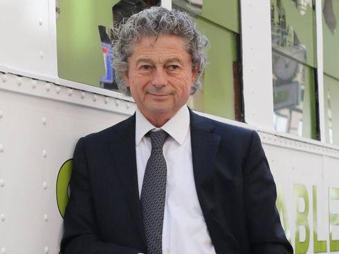 Claudio Balestri, presidente dell'azienda di vernici. ecologiche per la casa. 'Oikos'