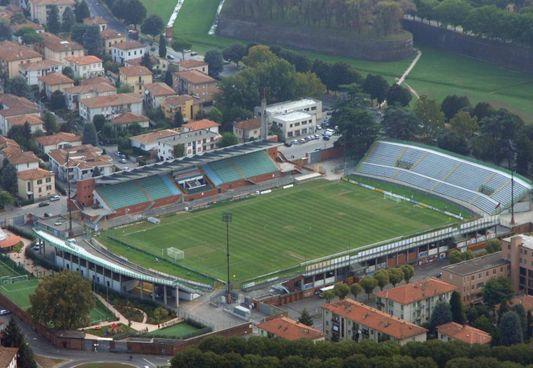 Lo stadio comunale Porta Elisa