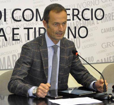 Riccardo Breda, presidente della Camera di commercio della Maremma e del Tirreno