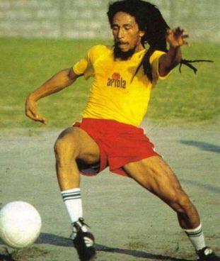 Bob Marley in campo: la sua specialità era il tackle
