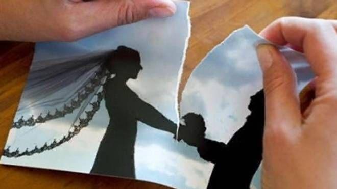 Divorzi, separazioni, liti in famiglia: foto generica