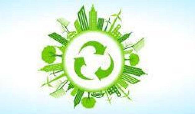 Un simbolo molto esplicito sull'economia circolare che dovrà diventare la normalità se si vuole salvare il pianeta