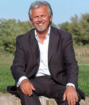 Ivano Serrantoni, presidente del Golf club Le Fonti; l'area di gioco si estende su sessanta ettari