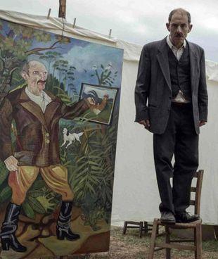 """Elio Germano, 40 anni, è Antonio Ligabue (1899 - 1965 in """"Volevo nascondermi"""""""