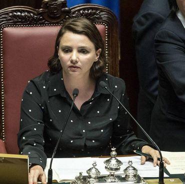 Il vice presidente della Camera, Maria Edera Spadoni (Movimento 5Stelle)