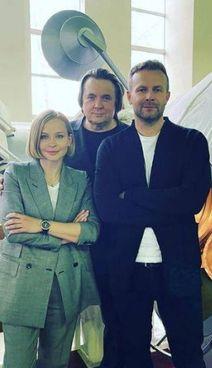 In primo piano, l'attrice Yulia Peresild e il regista Klim Shipenko (da Instagram)