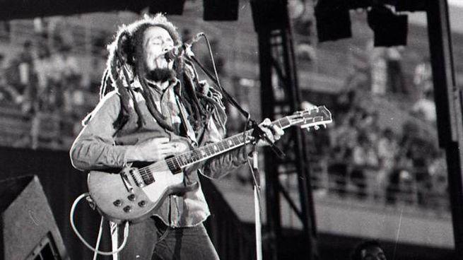 Bob Marley in concerto il 29 giugno 1980 a Milano, stadio San Siro