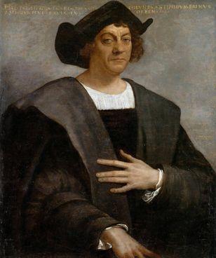 Cristoforo Colombo nel ritratto postumo dipinto da Sebastiano del Piombo (1519)