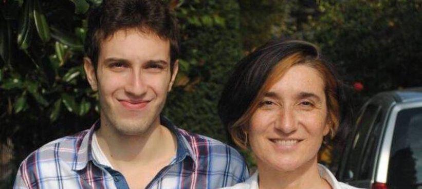Sabrina Guidetti con il figlio Marco