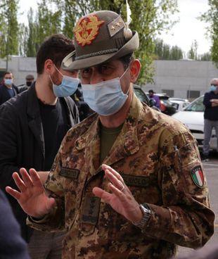 Il generale Francesco Paolo Figliuolo, commissario straordinario per l'emergenza Covid-19