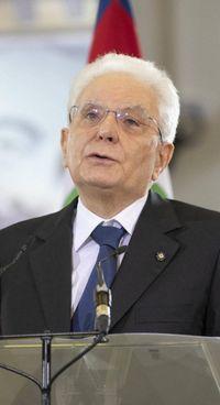 Sergio Mattarella, 79 anni, ieri nell'aula dell'Ucciardone a Palermo