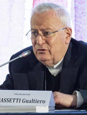 Il cardinale Gualtiero Bassetti, 79 anni