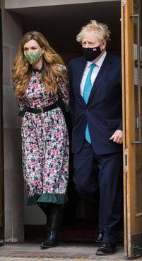 Boris Johnson (56), Carrie Symonds (33)
