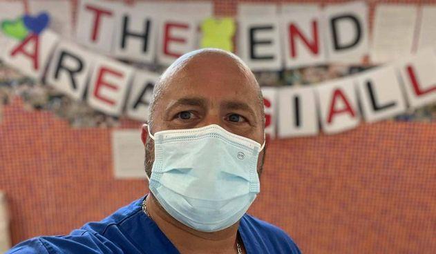 Il dottor Francesco Tursi, primario del reparto Covid dell'ospedale di Codogno. Nel paese ci fu il primo caso d'italiano contagiato