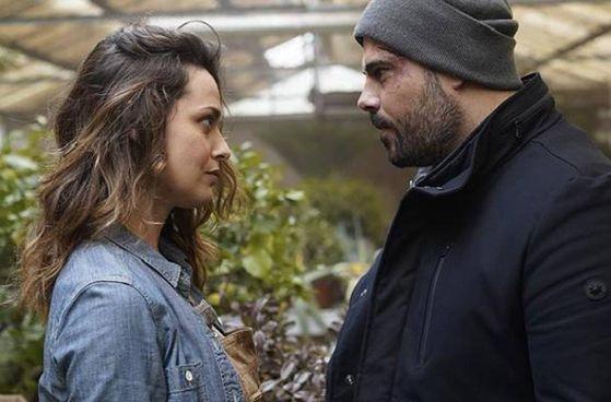"""Valeria Bilello, 39 anni,. e Marco D'Amore, 40 anni, in una scena di """"Security"""""""