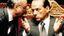 L'ex ministro Giuliano Urbani, 83 anni, con Silvio Berlusconi, 84 anni (Foto del 1994)