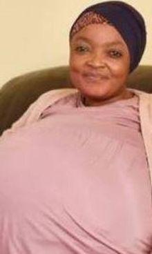 Gosiame Thamara Sithole, 37 anni, è la mamma dei record