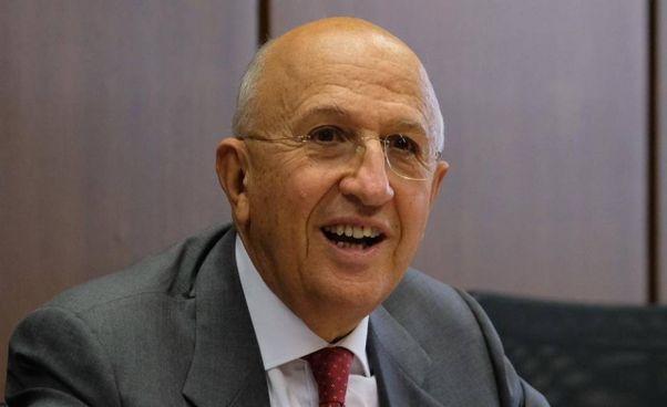 Antonio Patuelli, 70 anni, presidente dell'. Associazione Bancaria Italiana