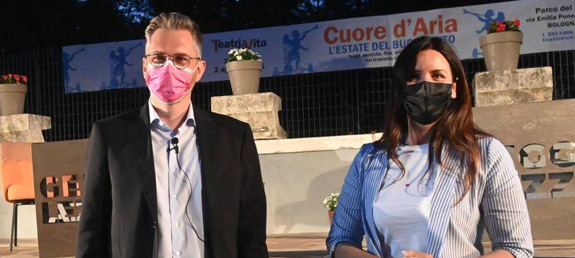 Matteo Lepore e Isabella Conti