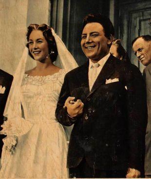 Claudio Villa e Fiorella Mari in Canzone proibita (1956) di Flavio Calzavara