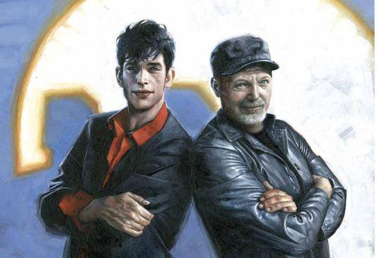 La speciale cover da collezione per l'incontro tra. Dylan Dog e Vasco Rossi