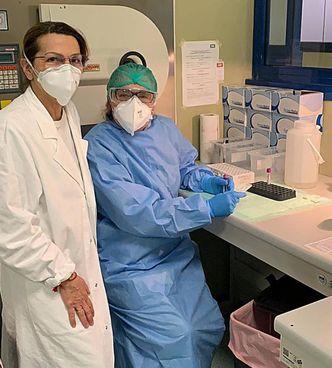 La professoressa Antonella Mencacci dirige la Clinica di Microbiologia dell'Università