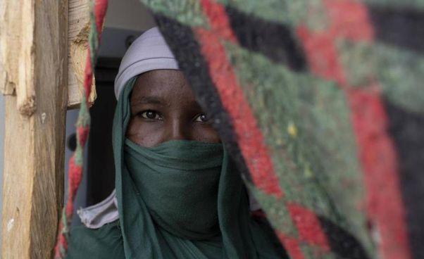 Una giovane nordafricana ha avuto il coraggio di ribellarsi alla. violenza e alla segregazione (. foto di repertorio