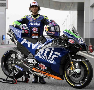 Enea Bastianini, 23 anni e iridato Moto2 nel 2020, con la Ducati Avintia di MotoGp