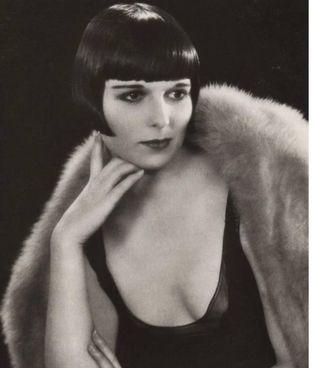 L'attrice Louise Brooks (1906 - 1985): a lei è ispirata la Valentina di Crepax