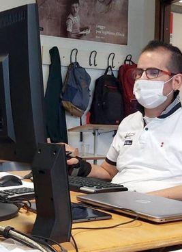 Salvatore di Modica al lavoro: nell'anno appena trascorso era al polo tecnologico di Lugo