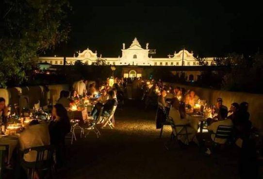 La cena sotto le stelle alla Certosa