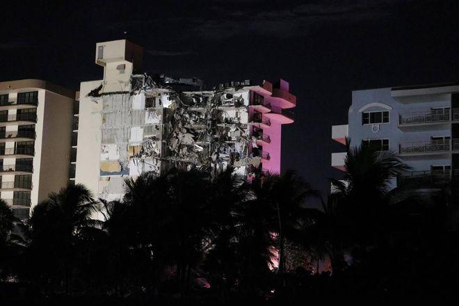 Crollo dell'edificio di Miami: il video choc. L'aumento mancante a 159
