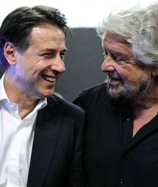 Giuseppe Conte, 56 anni, e Beppe Grillo, classe 1948: tra di loro, serrato dibattito sul futuro del M5s