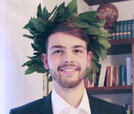 Luca Fusi, 22 anni, il ragazzo che è rimasto ucciso nello schianto