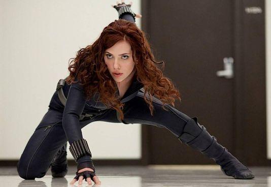 Scarlett Johansson (36 anni) nei panni di Natasha Romanoff, alias Black Widow