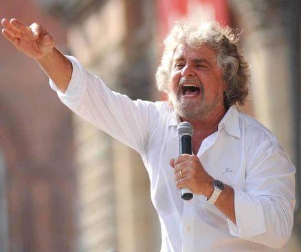 Beppe Grillo, 72 anni, ha fondato il M5s con. Gianroberto Casaleggio nel 2009