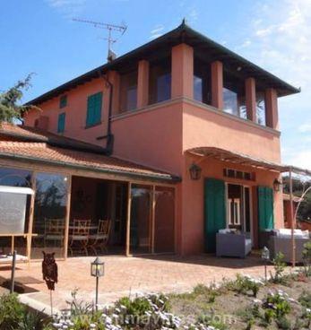 La villa di Grillo a Marina di Bibbona
