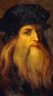 Un dipinto di Leonardo Da Vinci, tra i più grandi geni dell'umanità