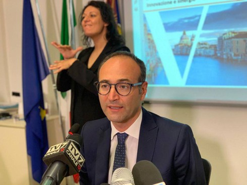 Federico Caner, assessore regionale al Turismo