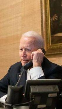 Biden, 78 anni, ha contattato al telefono l'omologo russo. Putin, 68