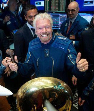 Il miliardario britannico Richard Branson, 70 anni, fondatore del Virgin Group