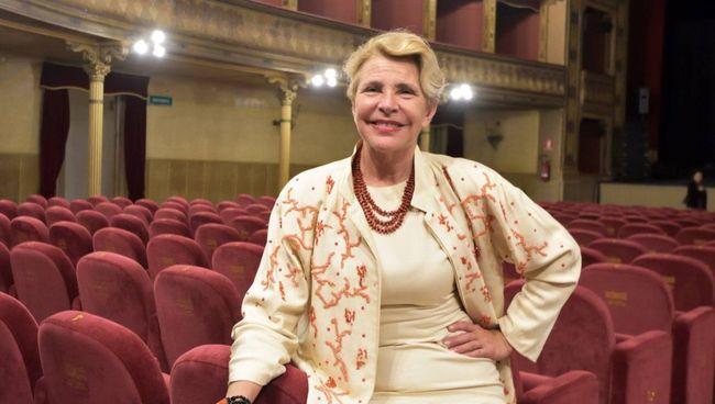 L'attrice toscana (64 anni) sta realizzando un documentario su Giorgio Strehler