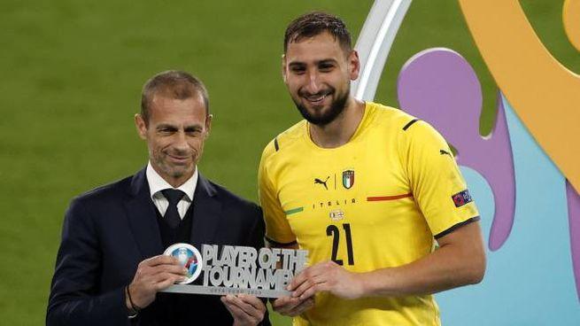 Gigio Donnarumma è stato votato miglior giocatore degli Europei