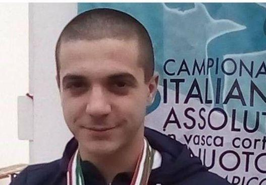 Il campione di nuoto della Finp, Michele Marinelli